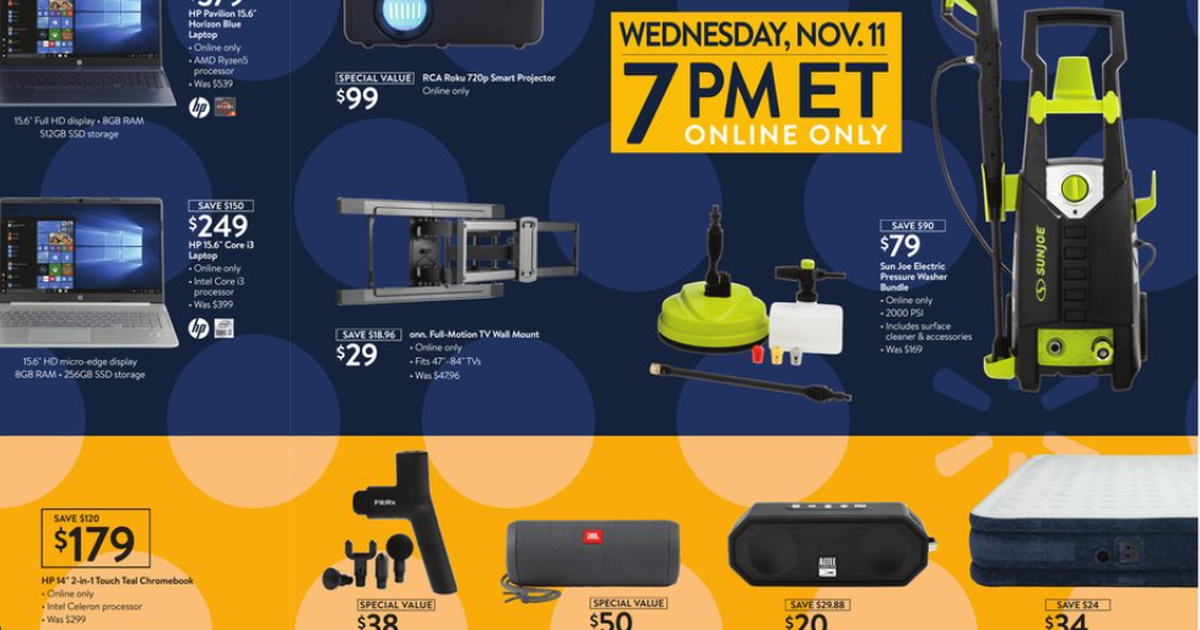 Black Friday 2020 Promo Scan: Check out the best deals and sales at Walmart, Best Buy, Home Depot and more