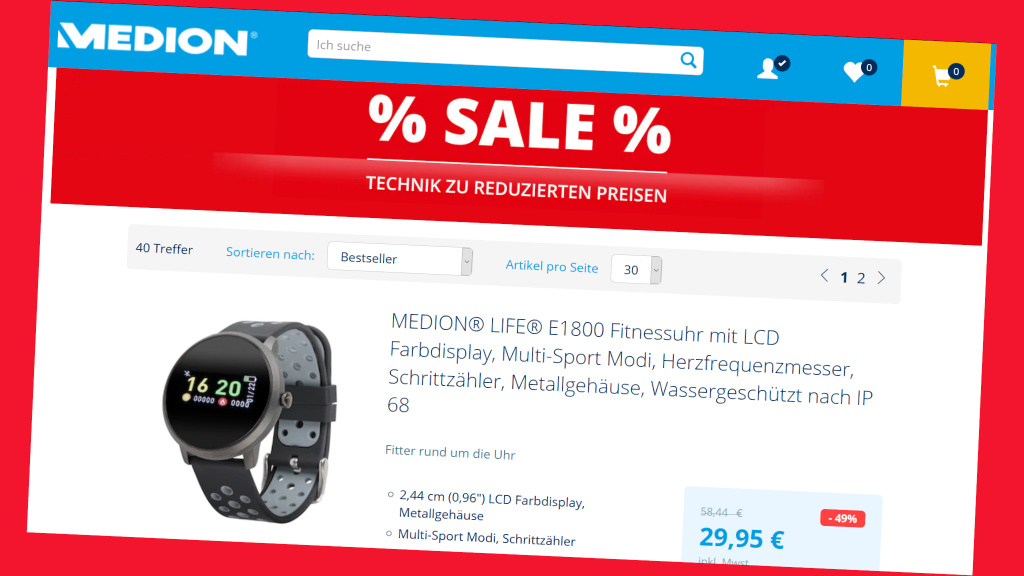 Medion: Sell Online – Save 60%!
