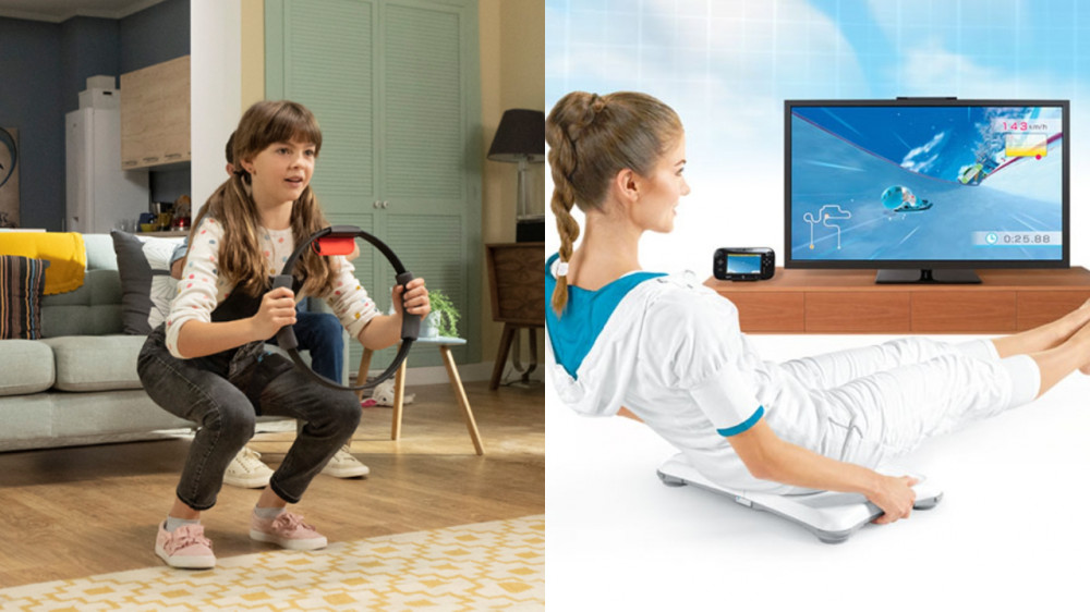 Train at home with Nintendo