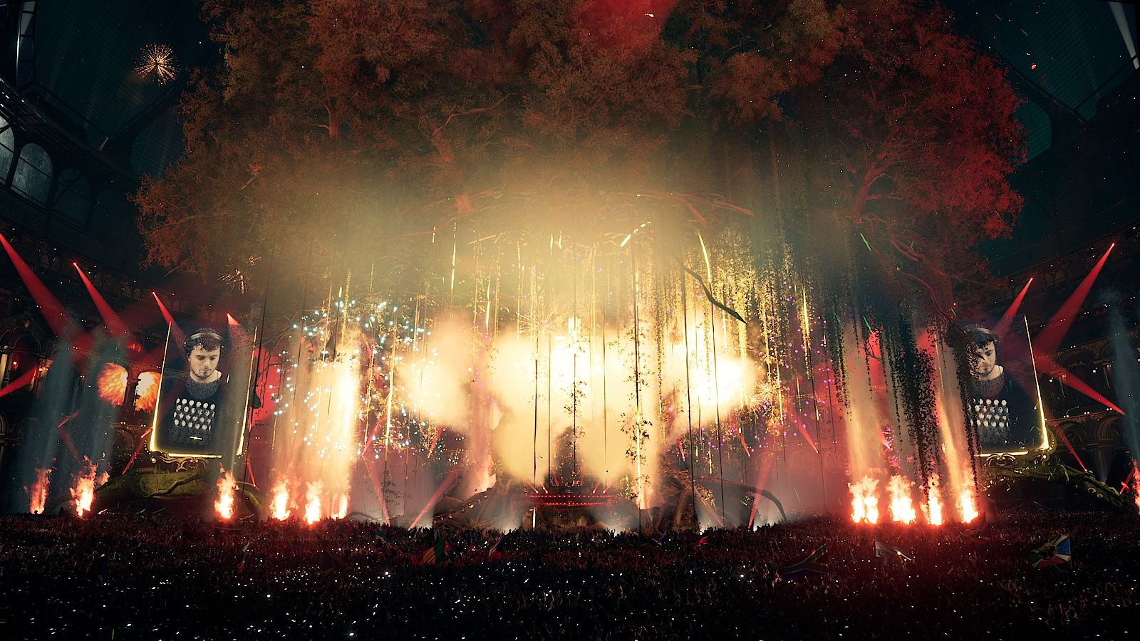 Tomorrowland New Year Eve in numbers