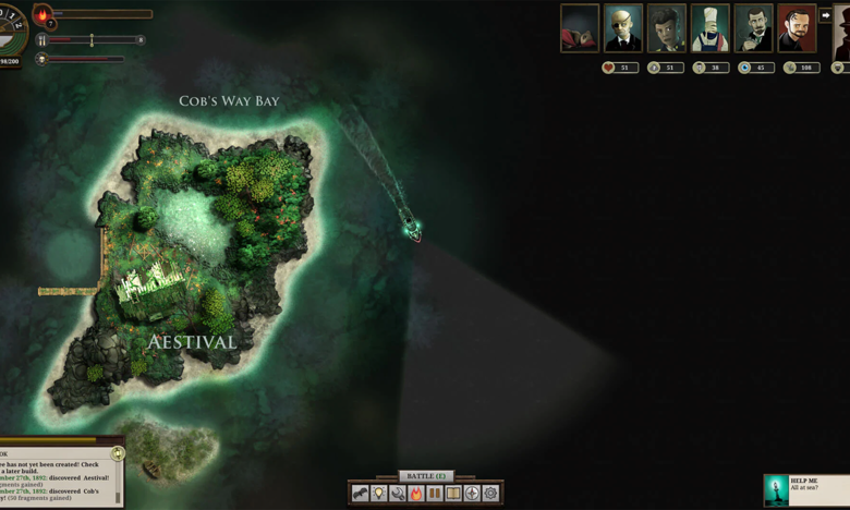 Free on the Epic Games Store Sunless Sea