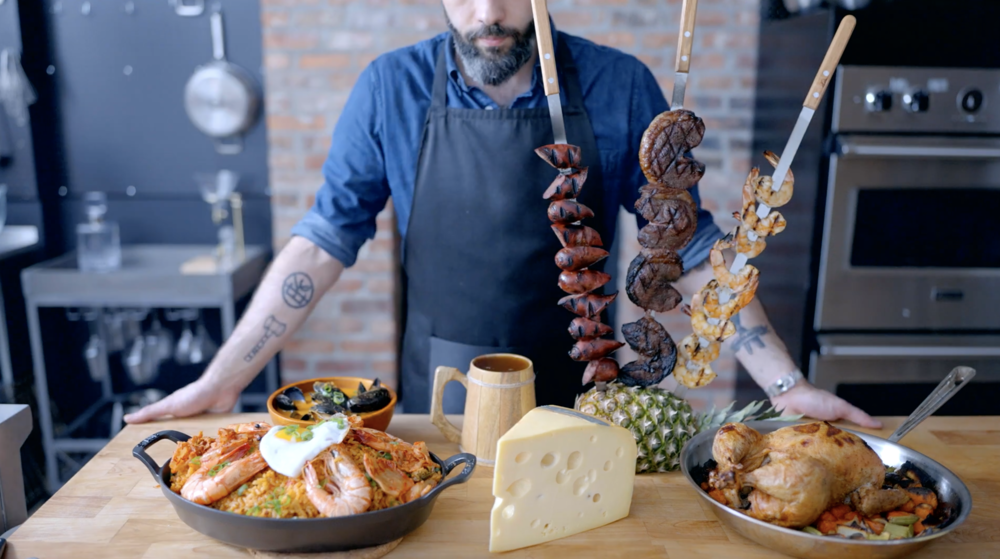This chef reinvents dishes from the game in real life