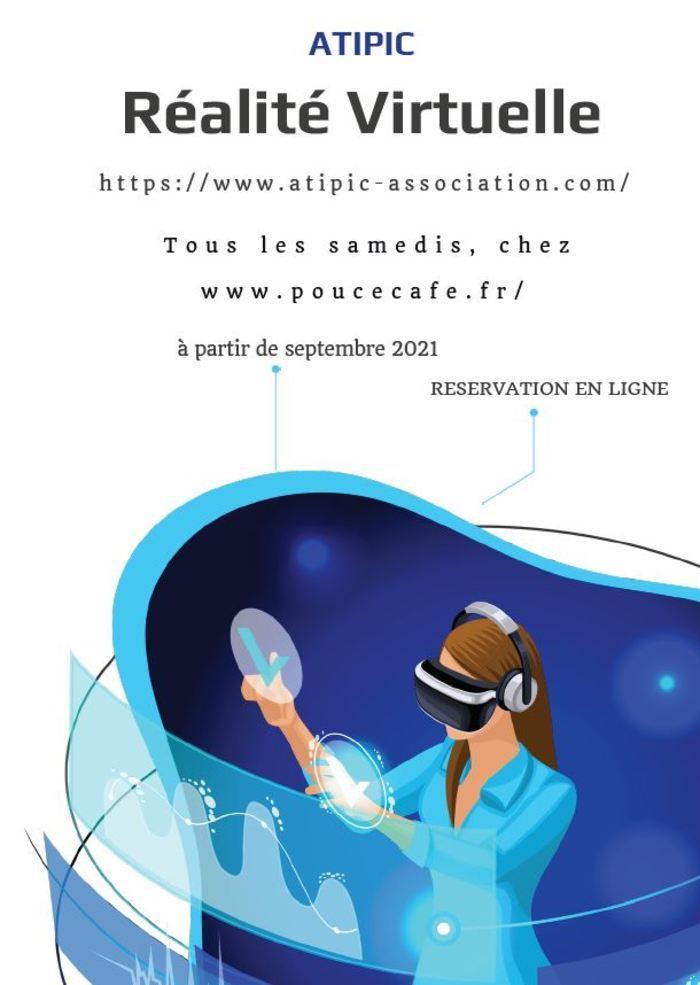 POUCE CAFE Versailles virtual reality immersion Saturday 4 September 2021