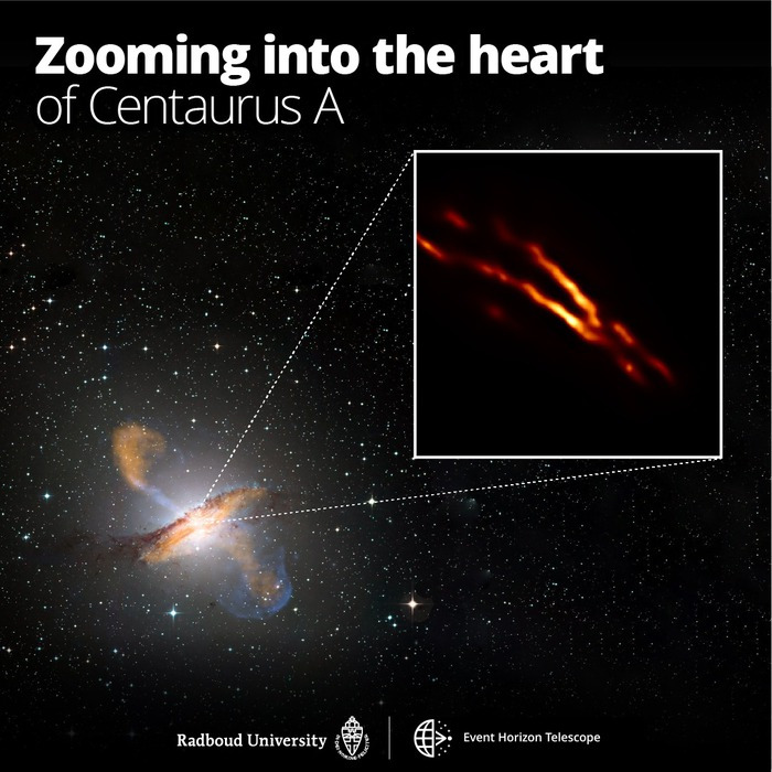 Photo of an active black hole Video – Space and Astronomy