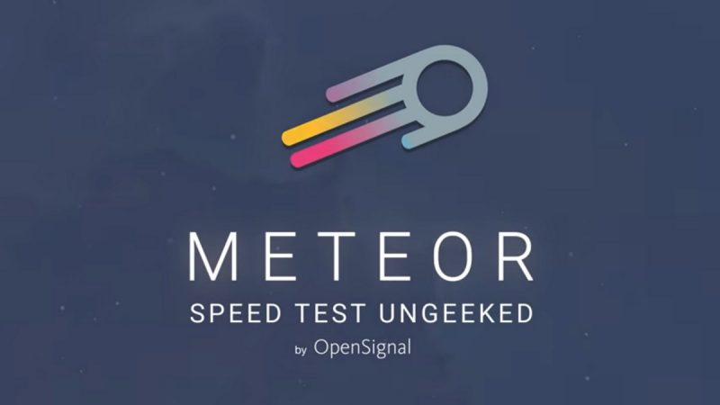 A useful application to test the quality of the Internet connection on mobile and WiFi is developing