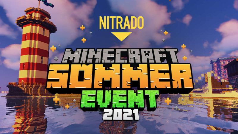 Nitrado Minecraft Summer Event 2021 – Win awesome prizes while playing