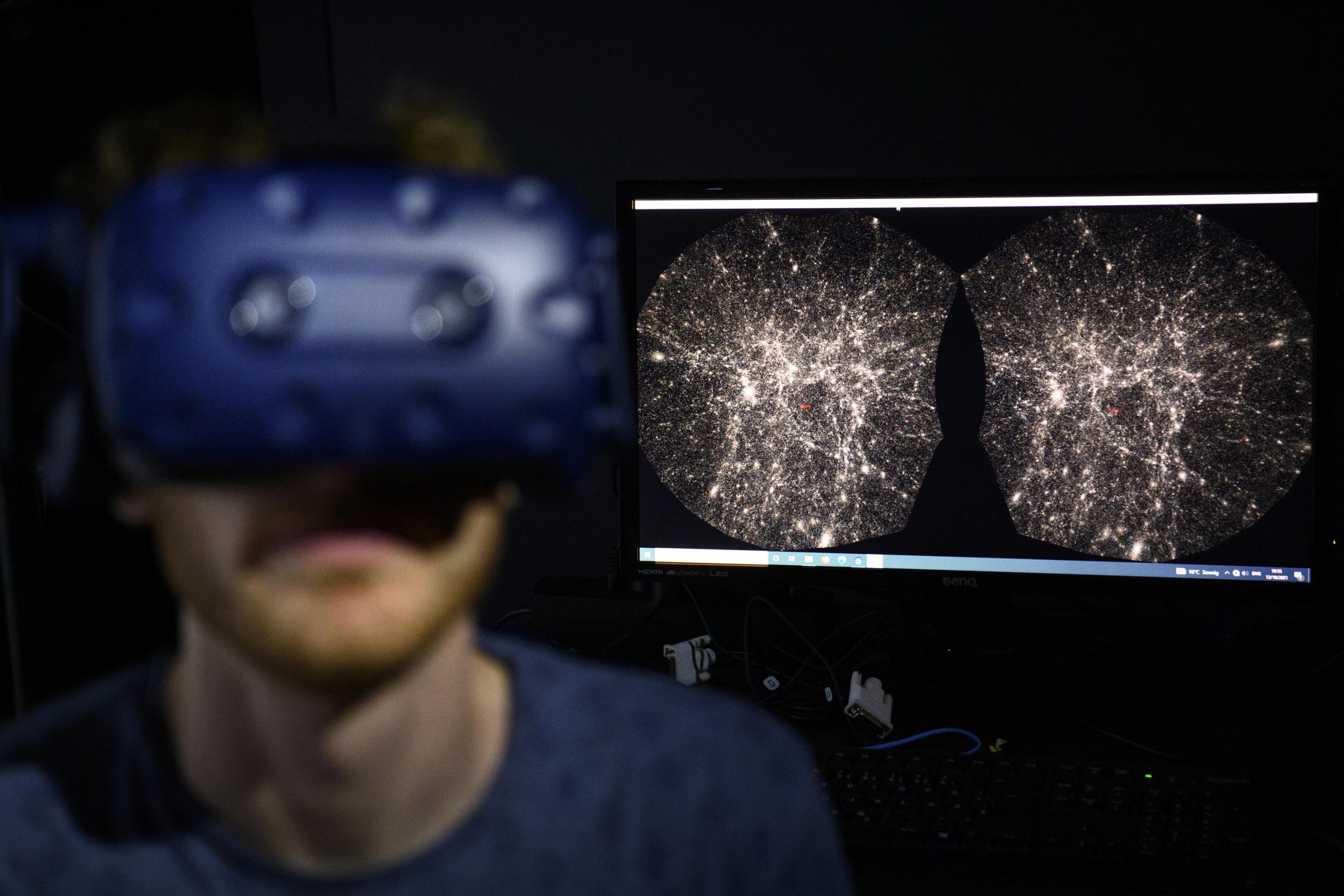Swiss introduces virtual reality software for the universe